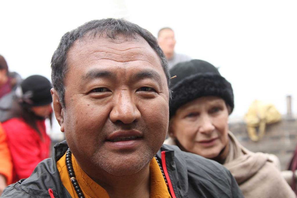 Tromge Jigme Rinpoche in Tibet Photo