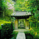 Temple Gate Greeting Card