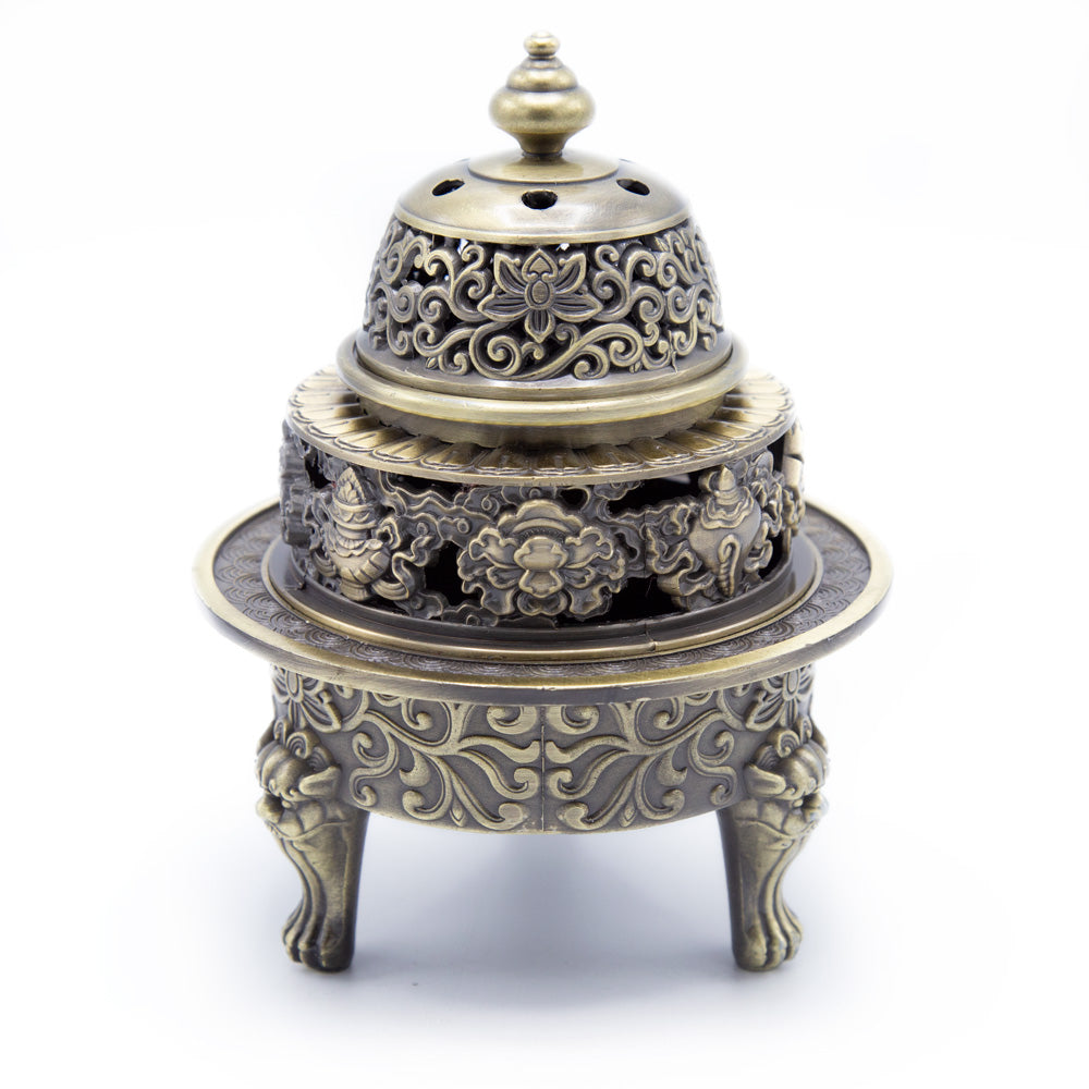 Tiered Incense Burner - Large