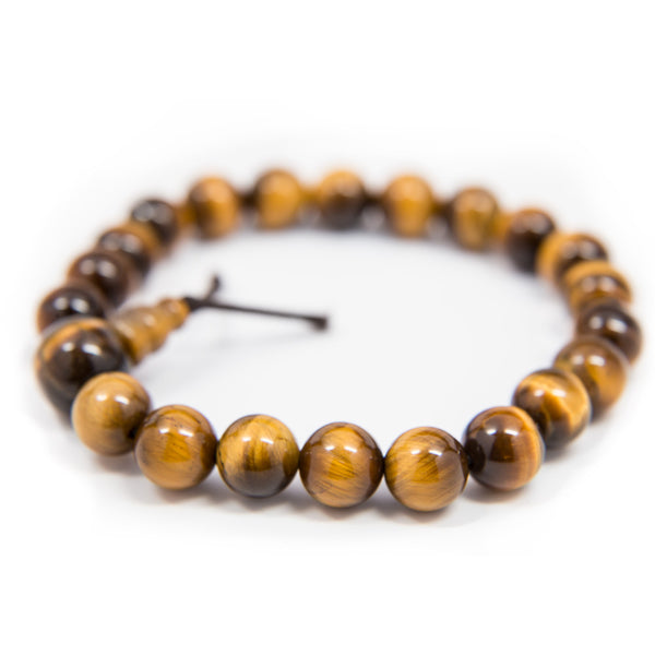 Tiger's Eye Wrist Mala - 8mm