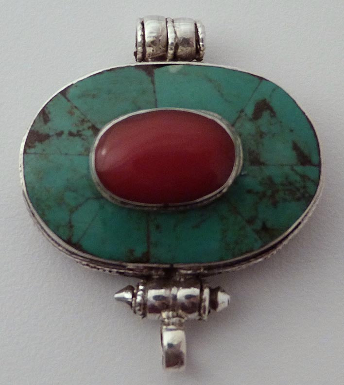 Turquoise and Pure Silver Gau