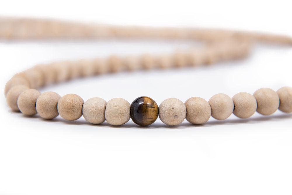 Whitewood Mala-  8mm