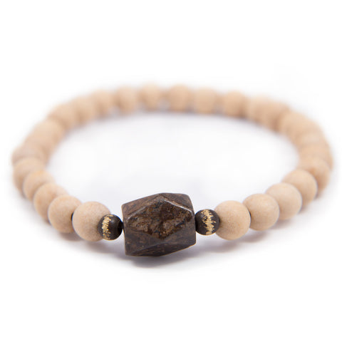 Whitewood Prostration Mala - 8mm