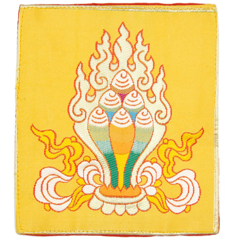 Wish-fulfilling Jewel Bell and Dorje Mat-yellow