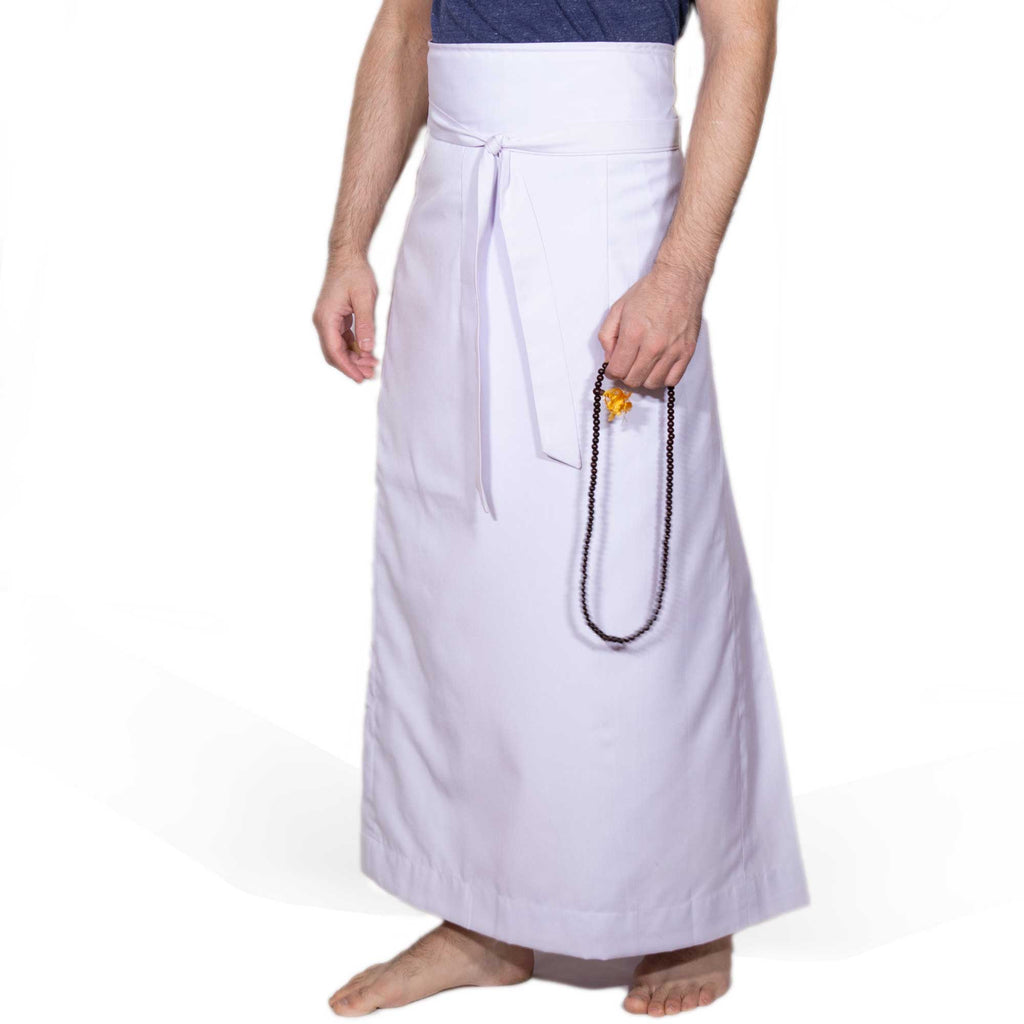 Wraparound Chuba Skirt - Linen Color