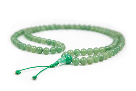Dark Jade Mala 8mm