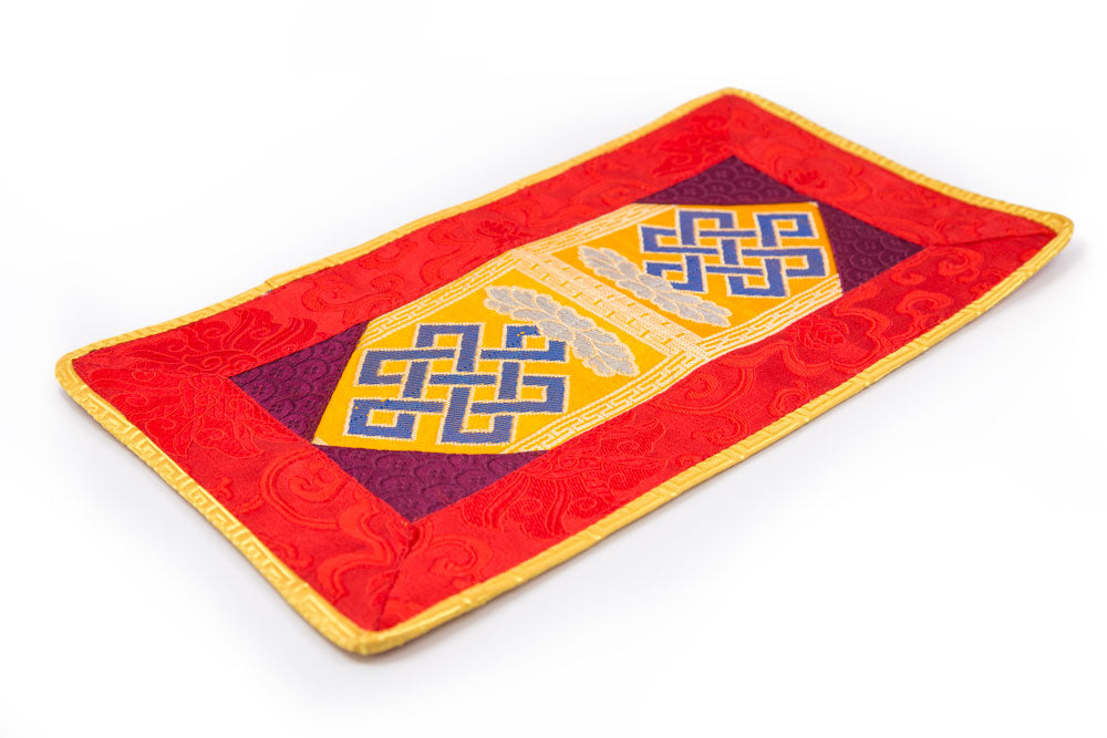 Endless Knot Bell and Dorje Mat - Large