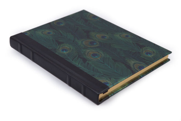 Peacock Feather Journal - Large
