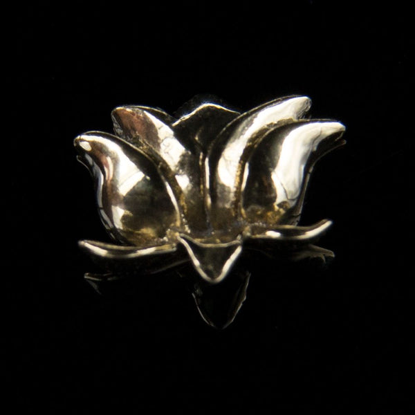 14k Gold Offering Lotus
