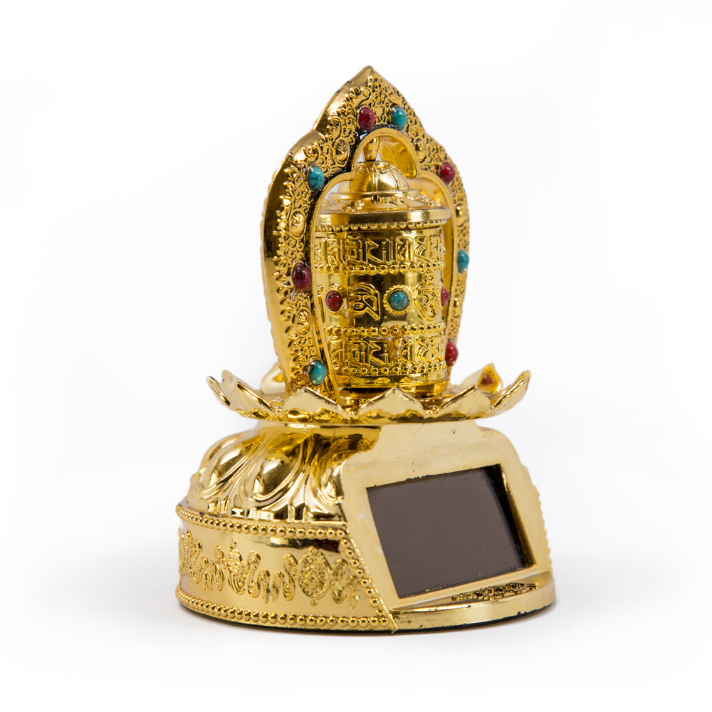 Lotus Solar Prayer Wheel