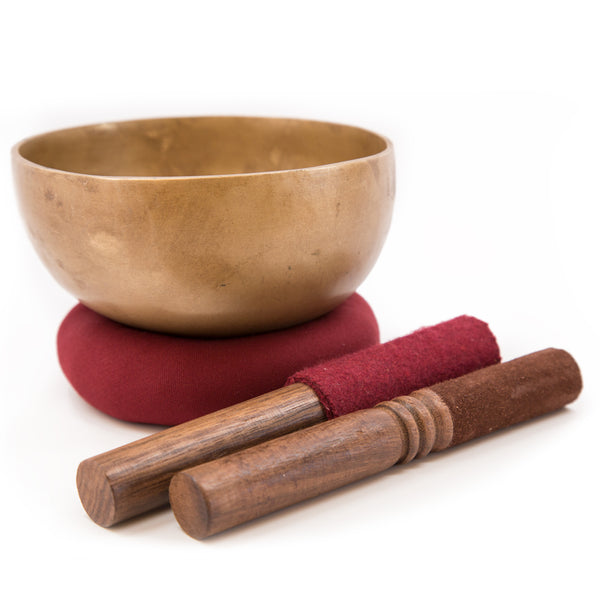 Bronze Singing Bowl - 5.25 inch