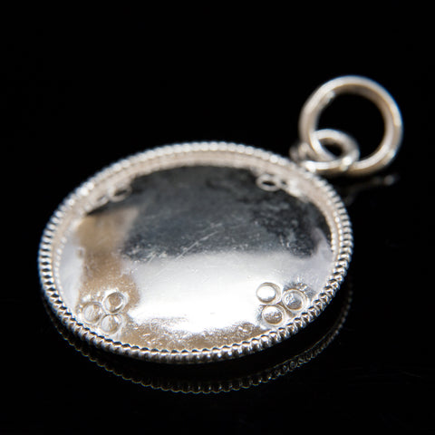 Pure Silver Melong - 1.5 inch