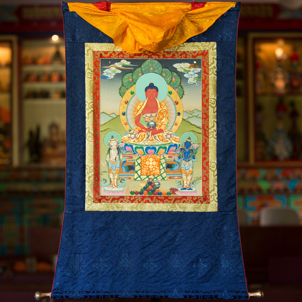 Amitabha Thangka - Medium