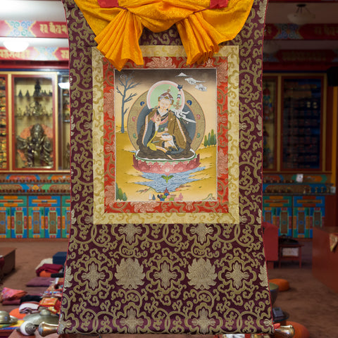 Guru Rinpoche Thangka - Small