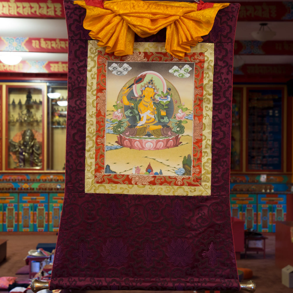 Manjushri Thangka - Small