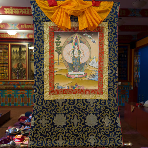Avalokiteshvara Thangka - Small