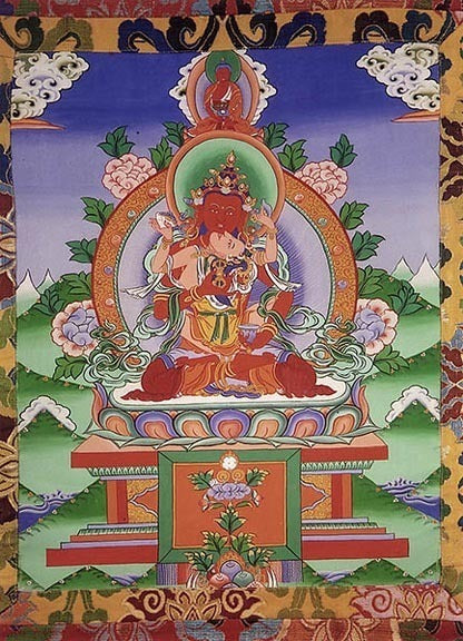 Red Vajrasattva and Consort Photo