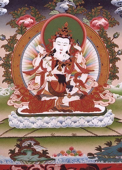 White Vajrasattva and Consort Photo