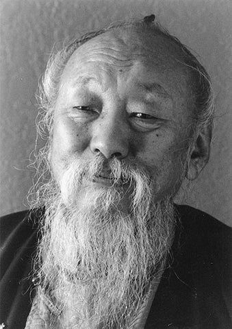 Chagdud Rinpoche Black and White Portrait