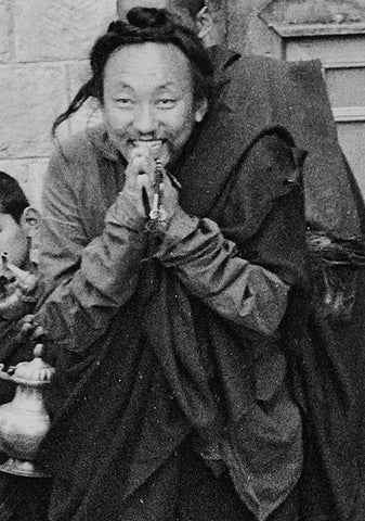 Chagdud Rinpoche Bowing Photo