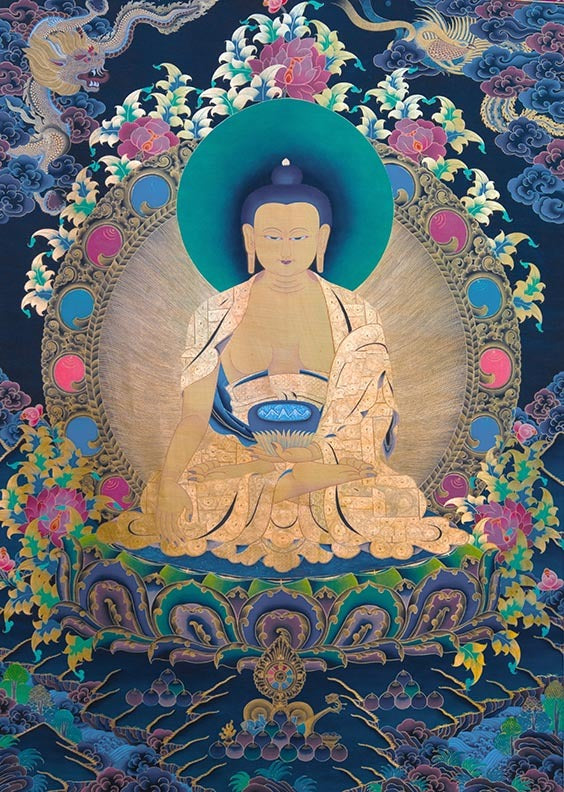 Shakyamuni Buddha at RL Photo