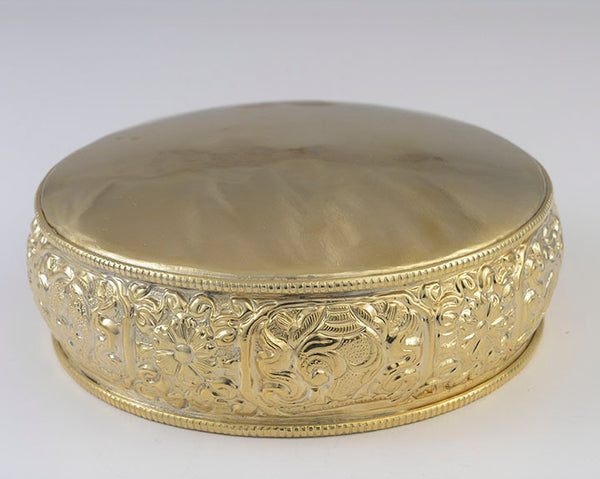Embossed Gold-Plated Mandala Pan - Imperfect
