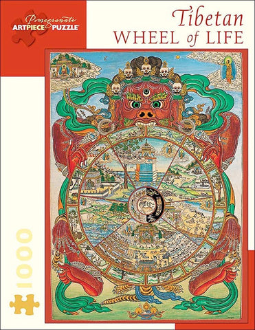Tibetan Wheel of Life - Jigsaw Puzzle