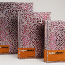 Silver Filigree Blush Pink Journal