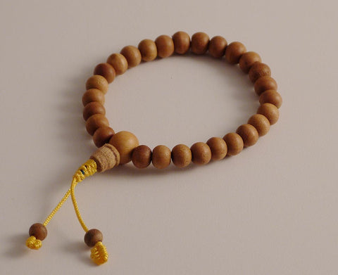 Sandalwood Prostration Mala - 8mm