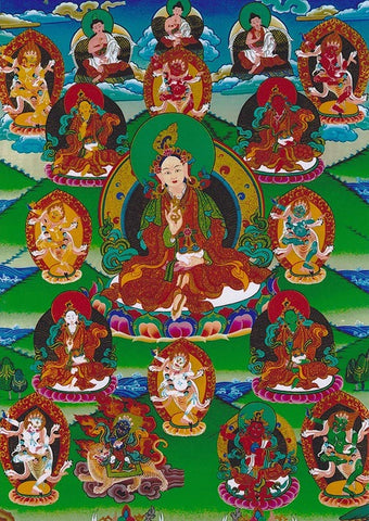Yeshe Tsogyal Mandala Photo