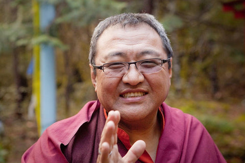 Jigme Tromge Rinpoche in Williams Photo