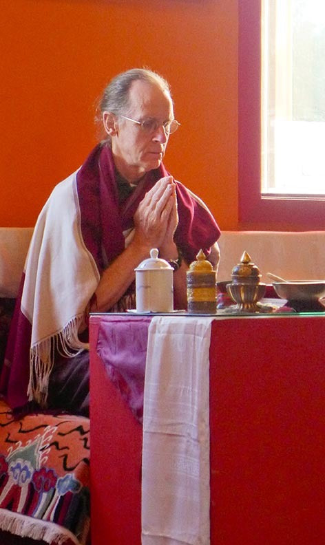 Lama Padma Gyatso at RL Photo