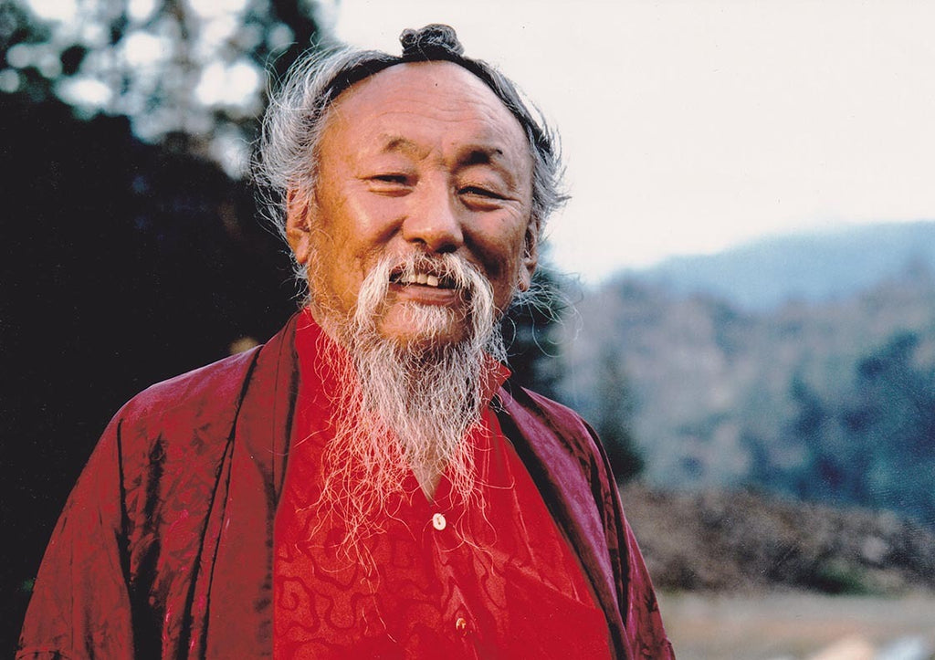 Chagdud Rinpoche at Rigdzin Ling Photo