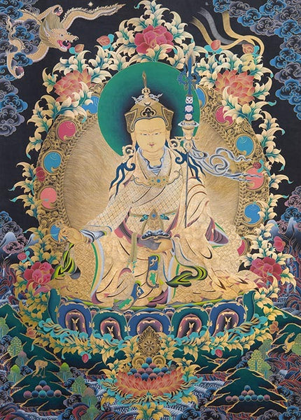 Guru Rinpoche at RL Shrineroom Photo