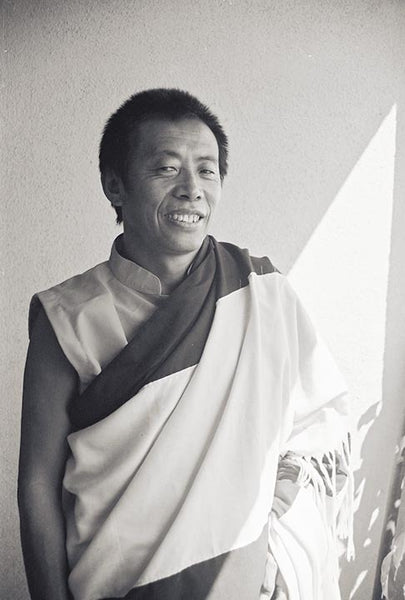 Tulku Sang-ngag Rinpoche Black and White Photo