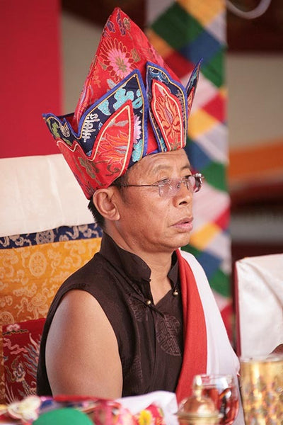 Tulku Sang-ngag Rinpoche with Hat Photo