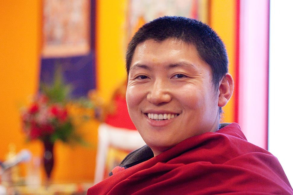 Phakchok Rinpoche at RL Photo
