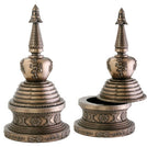 Stupa Cast Resin Statue Box