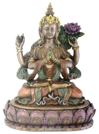 Avalokiteshvara Cast Resin Statue