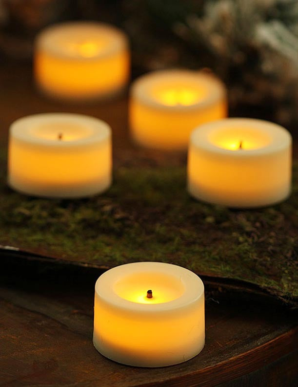 Flameless Real Wax LED Candle