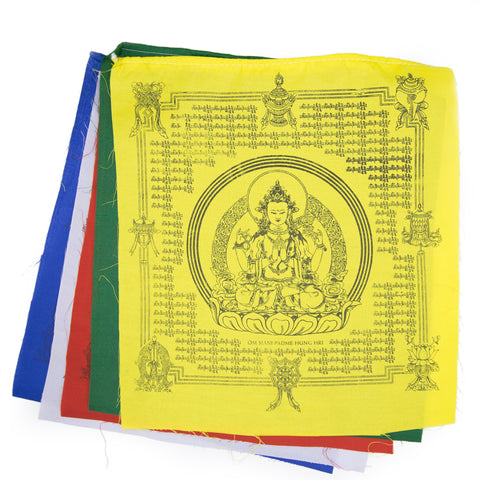 Chenrezig Prayer Flag - Set