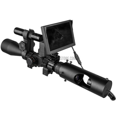 850nm Infrared IR Universal Tactical Night Vision Hunting Camera LED Display Screen Scope Attachment-Riflescopes-Outdoor Good Store