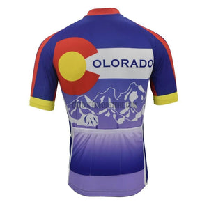 Colorado State Retro Cycling Jersey-cycling jersey-Outdoor Good Store