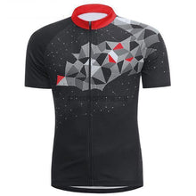 Geometric Shape Retro Cycling Jersey-cycling jersey-Outdoor Good Store