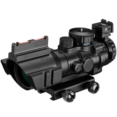 Hunting 4x32 Acog 20mm Dovetail Reflex Optics Scope Sight-Riflescopes-Outdoor Good Store