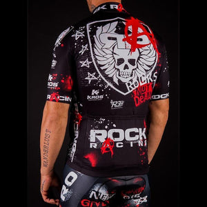 Rock Racing Anarchy Retro Cycling Jersey Kit-cycling jersey-Outdoor Good Store