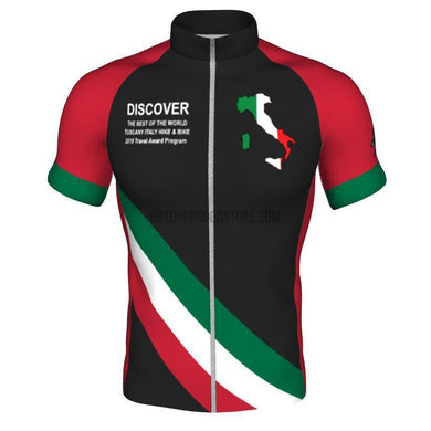 Tuscany Italy 2019 Cycling Jersey-cycling jersey-Outdoor Good Store