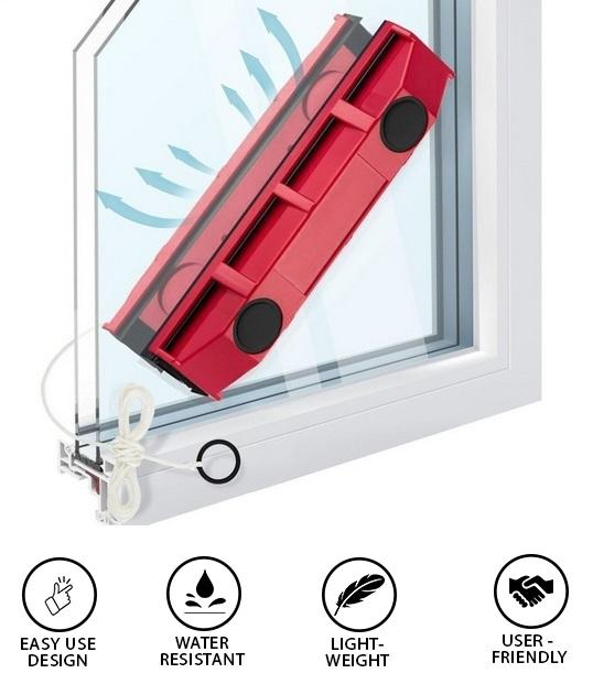 Twin Magnetic Window Cleaner