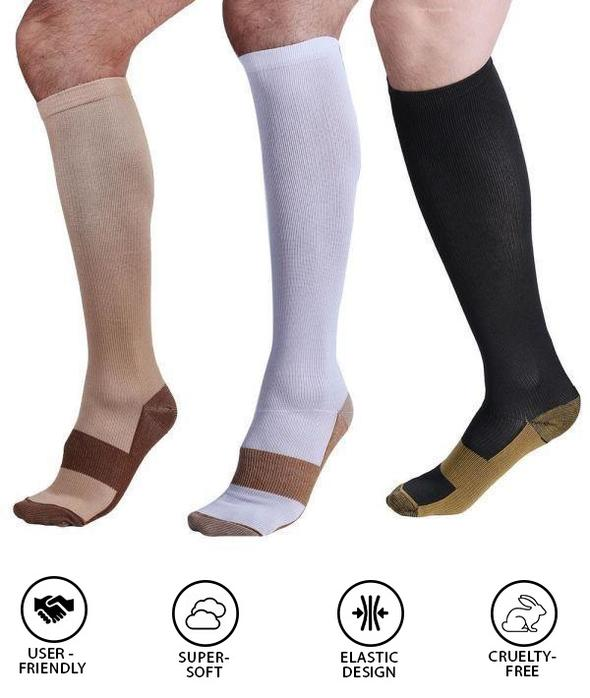 Extra Strength Reinforced Compressions Socks
