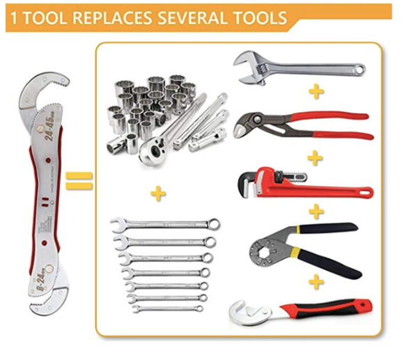 Multifunction Bionic Wrench